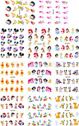 Stickers Mouse NZ - 11sheet lot Nails Stickers Mouse Cartoon Princess Stickers for nails Water Transfer Sticker Decal for Nail ZJT0003