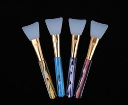 Wholesale High Quality Makeup Brush Color Silicone Facial Face Mask Mud Mixing Skin Care Beauty Make up Brushes Foundation Tools