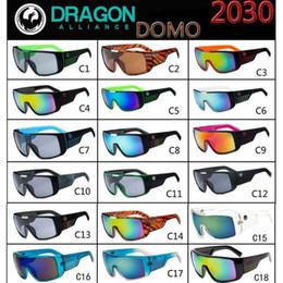 $enCountryForm.capitalKeyWord NZ - Wholesale New Fashion Men Women Siamese Mirror Sunglasses Wide Leg Fashion Casual Riding Sports UV Protection Sunglasses Free Shipping
