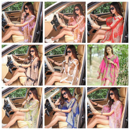 beach shawl sleeves 2019 - Beach Shawl Paisley Sarong Women Summer Dresses Sunscreen Scarves Print Bikini Cover Ups Poncho Fashion Wraps Sexy Swimw
