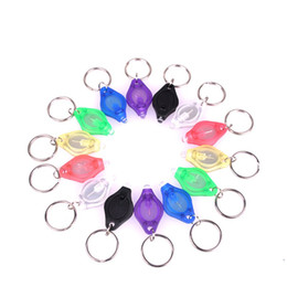 Chinese  100pcs Mini Torch Key Chain Ring PK Keyring White LED Lights UV LED Light Bulbs Photon 2 Micro LED Keychain Flashlight Mini Lamp manufacturers