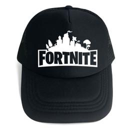af09be63222 Fortnite Trucker Cap Hat Game Fans Cool Mesh Caps Summer Breathable  Baseball Net Cap Hip Hop Adjustable Visor Outdoor Hat for Men Women 2018