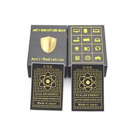2018 Antecedentes Tecnologia Saver Energy Chip Anti Radiação Etiqueta Eletromagnética Radiação Escudo venda por atacado