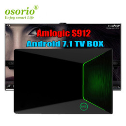 Android Tv Ethernet Canada - Genuine Android 7.1 S912 TV Box M9S Z9 2gb 16gb Gigabit Ethernet 5G AC WiFi BT4.0 3D Octa Core 4K TV Boxes Better T95Z PLUS