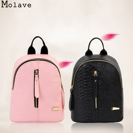$enCountryForm.capitalKeyWord NZ - MOLAVE Backpack PU Fashion Mini Dragons Shoulder Bag Backpack Arcuate Shoulder Strap Jacquard 2018 AP28