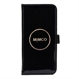 Chinese  MIMCO FLIP CASE FOR IPHONE 6P7P8P Leather Magnetic Closure phone case with card slots manufacturers