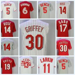 ee6e266fed8 ... sweden mens baseball jerseys 5 johnny bench 6 billy hamilton 19 joey  votto 11 barry larkin