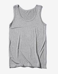 Wholesale top tanks men resale online - New Clothing Casual Gilet Men O neck Tank Tops Summer Male Bodybuilding Sleeveless Vest Gymclothing Fitness Men Shirt XL