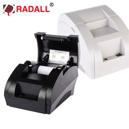 thermal paper rolls 2019 - 58mm Thermal Receipt Printer Portable Cheap Embedded 58 mm USB Serial Paper Roll with Drivers - NT-5890K discount therma
