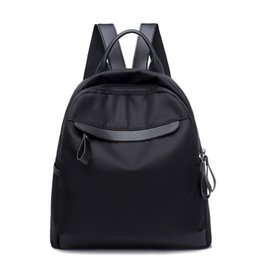 Sac Laptop UK - 2018 rucksack women backpack sac a dos femme solid travel laptop backpack back bag pack school bags for teenage girls