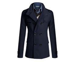$enCountryForm.capitalKeyWord Canada - S-XXXL navy blue Korean men woolen coat fashion Slim wild double-breasted coat business men lapel jacket pocket #651965