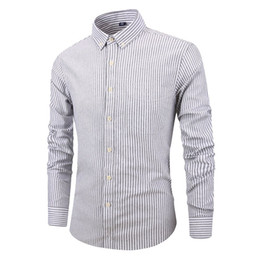 Wholesale slim fit polo dress shirts for sale - Group buy Men s Slim Fit Long Sleeve Dress Shirt Europe Business Causal Border Shirt High Quality Wedding Grooms Shirts