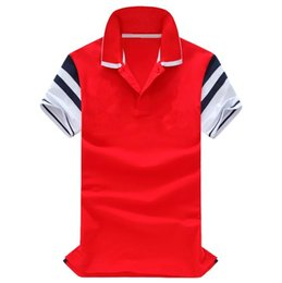 polo big horse UK - Mixed color Big horse New brand polo shirt men fashion Business camisa masculina hombre manga corta marca blouse blusa chemise WNS6006 M-XXL