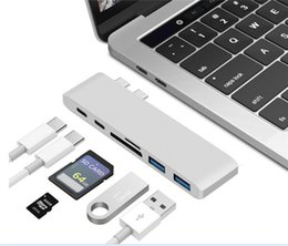 Usb port card reader online shopping - Multifunction Type C To Type C USB SD TF Card HUB Adapter Reader with Port for PC Laptor Tablet Converter