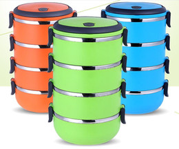 Wholesale Cheapest stainless steel lunch box Food Storage Container Thermal Bento Box with handle