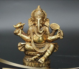 Chinese  Opening antique copper, Nepalese god of wealth, ornaments, lucky, god crafts, home decorations manufacturers