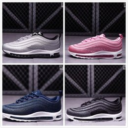 meet 6fefe 1ecc3 2018 Hot Sale Airs Cushion Plus Tn 97 Boys Girls Running shoes for Top  quality Fashion Drop Plastic shoes Size 28-35