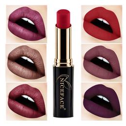 $enCountryForm.capitalKeyWord Australia - Hot Sale 24 Colors Matte Lipstick Lip Gloss Waterproof Long Lasting Lip Stick Makeup Nude Lipstick