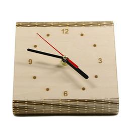 $enCountryForm.capitalKeyWord Canada - 1Piece The Flex Time Clock DIY Simple Desk Clock Modern Contemporary Bedside Table Minimalist Wood