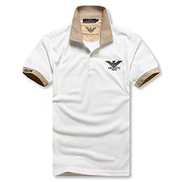 Venta caliente 2018 Nueva Polo Camisa de Los Hombres de Alta Calidad de Cocodrilo Bordado LOGO Tamaño Grande M-2XL Manga Corta de Verano de Algodón Casual Polo Camisas para hombre en venta