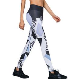 Yoga Pants Leggings Australia - Yoga Pants Women Sports Clothing Printed Yoga Leggings Fitness Running Tights Sport Pants Compression Tights 40ST26