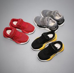 Cheap Girls Canvas Shoes NZ - cheap kids shoe Boys Girls Sports breathable mesh shoes Children Sneaker Spring Fashion warm Kids running Shoes XXP76