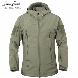 Waterproof camouflage hunting clothing online shopping - Army Camouflage Coat Military Jacket Waterproof Windbreaker Raincoat Hunt Clothes Army Men Outerwear Jackets And Coats
