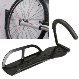 Wholesale 30kg Capacity Bike Wall Mount Bicycle Stand Holder Mountain Bike Rack Stands Steel Hanger Hook Storage Bicycle Accessories Black