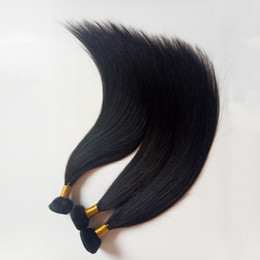 european straight human hair extensions UK - European human Hair Weft Straight natural color fictile Stylish sexy lady hair extensions 8-26inch 100gNo fiber, no synthetic,best quality