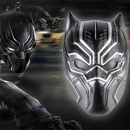 $enCountryForm.capitalKeyWord Canada - Movie Superhero Black Panther Solid 3d Latex Masks Halloween Party Costume Props Accessories Man Gift High Quality