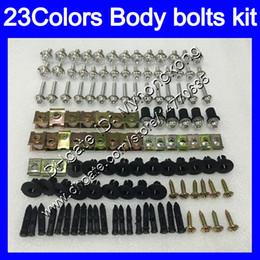 Fairing Bolts Zx UK - Fairing bolts full screw kit For KAWASAKI ZX14R 12 13 14 15 ZZR1400 ZX 14R ZX-14R 2012 2013 2014 2015 Body Nuts screws nut bolt kit 25Colors