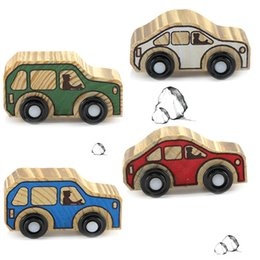 $enCountryForm.capitalKeyWord Canada - Hot selling new wooden crafts putting pieces flat transport truck model toy home living room decoration wholesale
