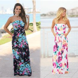 $enCountryForm.capitalKeyWord Canada - 2018 New Sexy Dresses Party Evening Peplum Formal Evening Gowns Floral Print Pageant Prom Dress Sleeveless