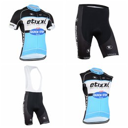 QUICK STEP team Cycling Short Sleeves jersey (bib) shorts Sleeveless Vest  sets New Hot Sale mountain Bike Clothes ropa ciclismo A41227 30744234a