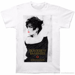 $enCountryForm.capitalKeyWord NZ - T Shirt 2018 New Graphic Men Siouxsie And The Banshees Men's Join Hands Slim Fit T-shirt Size S To 3XL O-Neck Short-Sleeve Tees