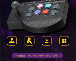 $enCountryForm.capitalKeyWord Australia - Cdragon P S4 arcade stick USB rocker arcade joystick KOF Street Fighter three and PC computer game handle inclined free shipping