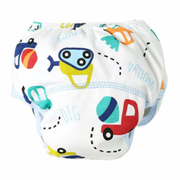Cotton Gauze Pants Canada - rorychen Modern 2017 cute Summer Cloth Diaper Baby Cotton Training Pants Reusable Diaper Washable Nappies DropShipping D40