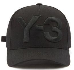 b5e0284b220 Cheap Y-3 Dad Hat Big Bold Embroidered Logo Baseball Caps Adjustable  Strapback Hats Y3 bone Snapback sport Casquette visor gorras hiphop hat