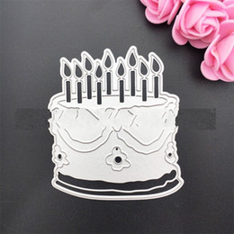 Handmade metal toys online shopping - Diy Paper Cut Carbon Steel Knife Die Big Cake Scrapbooking Paper Art Embossing Metal Cutting Dies Handmade Toys wy gg