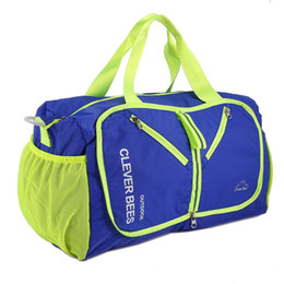 Folding Art Table UK - Multi-function Portable Sport Travel Bag ultralight folding bags portable backpack camping Travel Bags Waterproof Gym Bag Duffel Bag