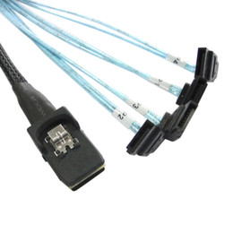 $enCountryForm.capitalKeyWord Australia - 80cm Mini SAS 4i SFF-8087 36 Pin Host to Reverse 270 Degree Angled 4 SATA 7Pin Target HDD Hard Drive Splitter Cable 10Gbps