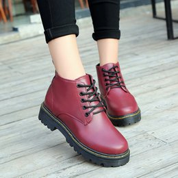 9dcdcf4eef189 new winter 2018 Martin boots female British wind restoring ancient ways  shoes boots students joker winter cotton shoes wholesale B042