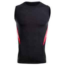 Quick Dry Shirts For Men Australia - Cheap Various colors new Quick Dry Men's sport Vest  Compression Gym T-shirts Custom Running Tops For Events#MY17120