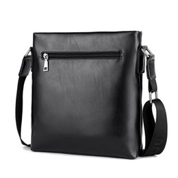 749378217b7a The new male package bag pu leather satchel BAG men s business casual bag  Korean vertical Backpack
