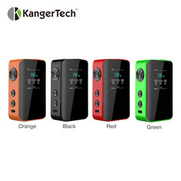 kangertech batteries NZ - Kangertech VOLA 100W TC Box MOD 2000mAh Built-in 2000mAh Battery 1.3-inch TFT Display Support Beginner Intermediate Expert Modes