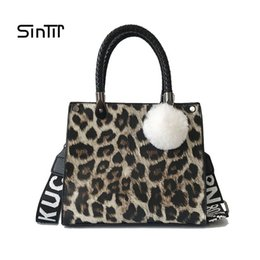 $enCountryForm.capitalKeyWord NZ - SINTIR Leopard Print Fashion Handbag Women 2018 Winter Crossbody Bags Lady Shoulder Hand Bag Handbags Fashion Retro Sexy Sac