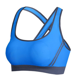 Chinese  Sexy Yoga Bra Women Sports Bra Running Gym Padded Push Up Fitness Athletic Brassiere Sport Top sujetador deportivo manufacturers