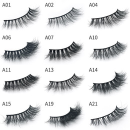 $enCountryForm.capitalKeyWord Australia - Hot Mink 3D Lashes Makeup full Strip Eyelashes Thick Fake Eyelashes Hand-made False Eyelashes Eye lashes Make Up eyelash extension 1 Pair