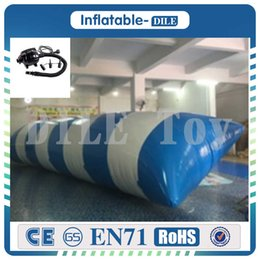 $enCountryForm.capitalKeyWord NZ - Free Shipping 7x3m Inflatable Water Blob,Water Blob Jumping Bag ,inflatable jumping Ball For Children With Free One Pump