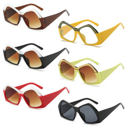 ced924f66d7 Clear shades online shopping - Polygon Sunglasses Clear Sun Glasses Big Frame  Retro Eyewear Fashion Square